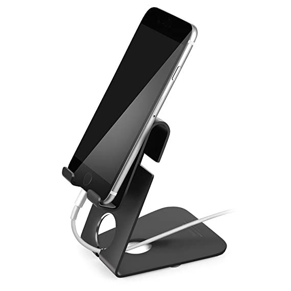 official photos 61e76 ae750 Aluminum Cell Phone Stand, Holder-Mate Desk Stand for iPhone Charging Stand  Station Dock Holder Docking Support All Smart Phone iPhone Xs ...
