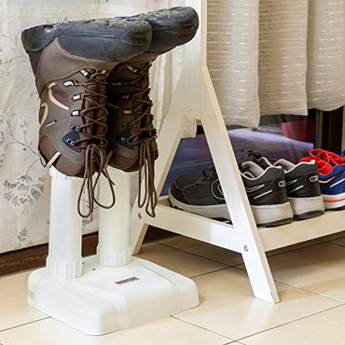 JobSite Original Boot Dryer - Noiseless Electric Dryer for Shoes, Gloves, Socks - Prevent Odor, Mold & Bacteria (6 pack) by JOB SITE (Image #6)