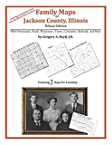 Front cover for the book Family Maps of Jackson County, Illinois by Gregory A. Boyd