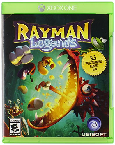 Rayman Legends Xbox One Standard Edition (Best 4 Player Co Op Games Xbox 360)