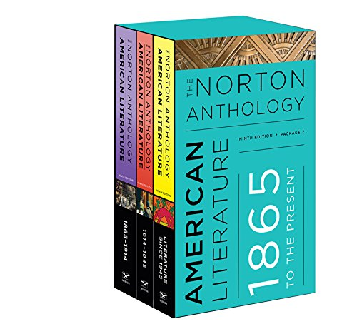 The Norton Anthology of American Literature (Ninth Edition)  (Vol. Package 2: Volumes C, D, E) (Norton Anthology of American Literature, package 2) cover