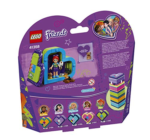 LEGO Friends Mia's Heart Box 41358 Building Kit (83 Pieces) (Discontinued by Manufacturer)