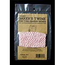 Regency Wraps Baker's Twine, Red and White, 25-Feet