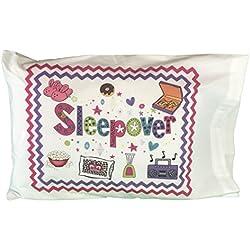 Fun Sleepover Autograph Standard Pillowcase with Pen
