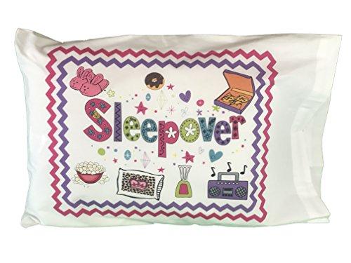 Cases Pillow Sleepover - Fun Sleepover Autograph Standard Pillowcase with Pen