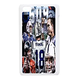 Peyton Manning Discount Personalized Cell Phone Case for iPod Touch 4, Peyton Manning iPod Touch 4 Cover