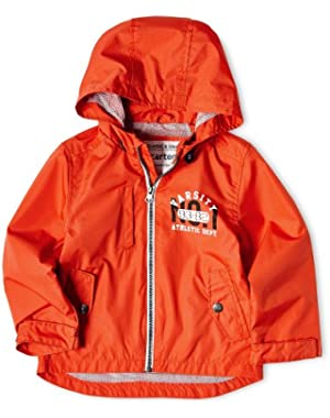 Baby-boys Infant Ripstop with Mesh Liner, Orange, 4t