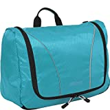 eBags Portage Large Toiletry Kit and Cosmetics Bag - (Aquamarine)