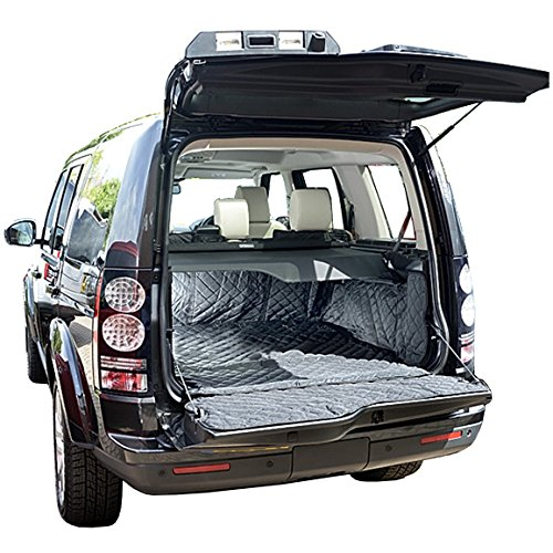Land Rover LR4 Cargo Liner Trunk Mat - Quilted, Waterproof & Tailored - 2009 to 2016 by North American Custom Covers