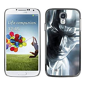 Paccase / Hard Protective Case Cover for - Silver Man - Samsung Galaxy S4 I9500