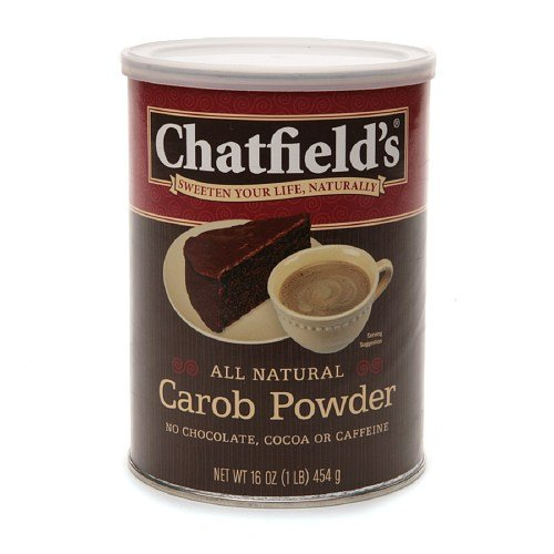 Chatfield's All Natural Carob Powder- Sweeten Your Life Naturally 16 oz (Pack Of 8)