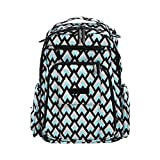 Ju-Ju-Be Onyx Collection Be Right Back Backpack Diaper Bag, Black Diamond