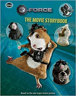 G Force The Movie Storybook Cosby Nate 9781423112884 Amazon Com Books