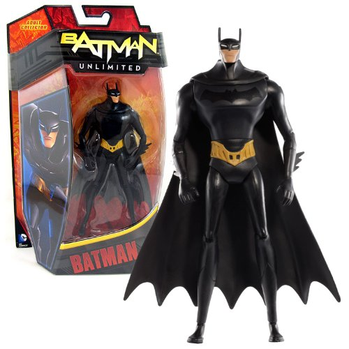 Mattel Year 2013 DC Comics Batman Unlimited Series 6 Inch Tall Action Figure - Animated Version BATMAN (Y3141)