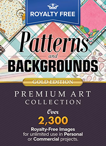 Royalty Free Premium Patterns and Backgrounds Image Collection - Gold Edition: Make Your Publishing Projects SHINE! (for Windows) [Download]