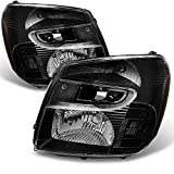 chevy equinox headlight assembly - Chevy Equinox SUV Black Headlights Headlamps Front Lamps Replacement Left + Right Pair set