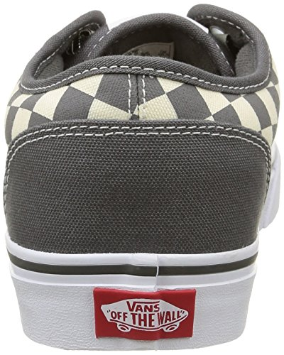 Gray Vans Multicolore Uomo Checkers Natural Sneakers Atwood da gqwrYg