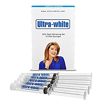 Amazon Com Ultra White 22 Teeth Whitening Gel Large 5 Tubes 3 8