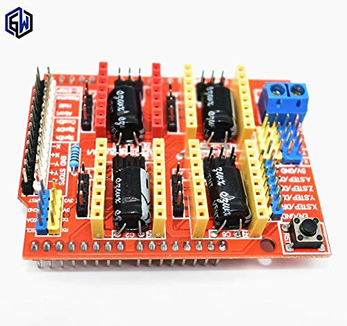 Price comparison product image Fevas New CNC Shield v3 Engraving Machine / 3D Printer / A4988 Driver Expansion Board - (Ships from: China)