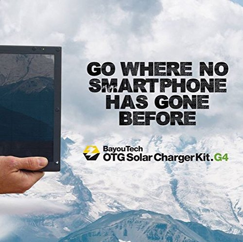 BayouTech OTG G4 Portable Solar Power Bank Charger and Battery Pack by Gatorwire (Image #8)