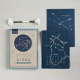 2018 Stitch the Stars Calendar Kit - DIY Glow in the Dark Constellation Craft kit - Part of Martha Stewart American Made Market