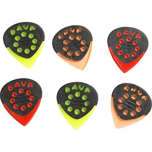 Small 6-Pack Assorted Colors (Dava Picks)