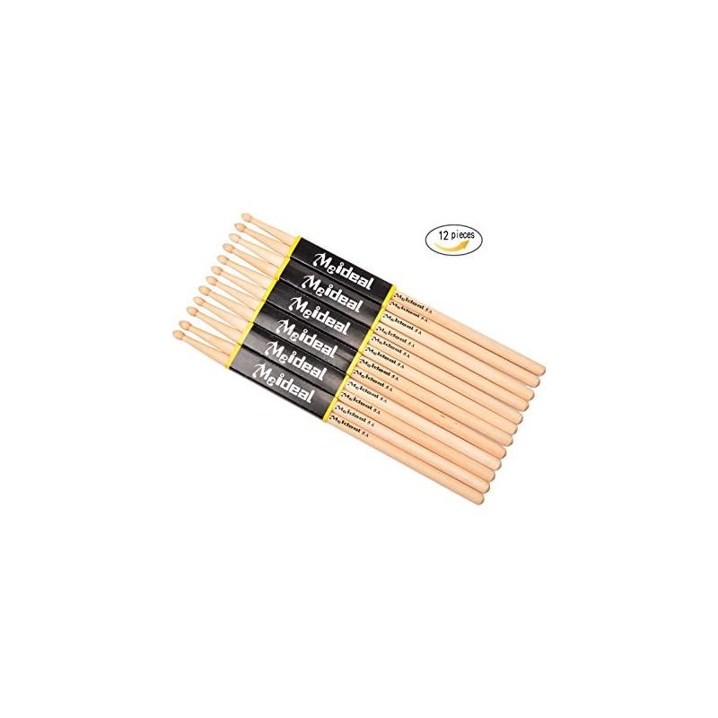 Drum Sticks 5A Wood Tip Drumstick,Studen