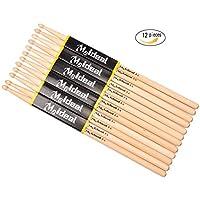 Drum Sticks 5A Wood Tip Drumstick,Student Drum Sticks...