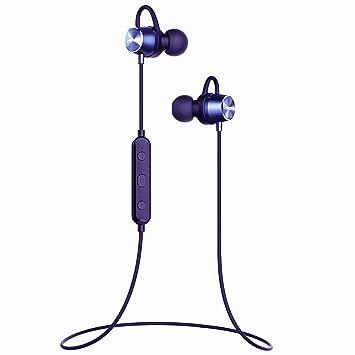 Mpow Auriculares Bluetooth, estéreo Bluetooth 4.1 Auriculares magnético inalámbrico a Prueba de Sudor Auriculares Running: Amazon.es: Informática
