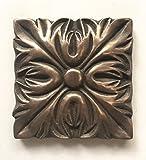 Bronze Metallic 4x4 Resin Deco
