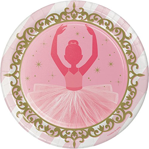Ballet Paper Plates, 24 ct hot sale