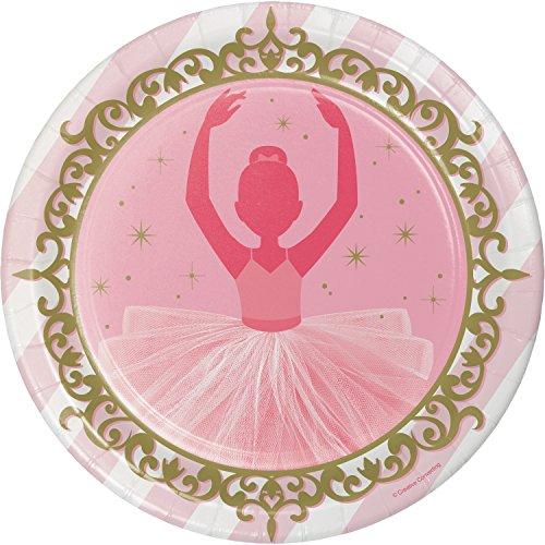 Ballet Paper Plates, 24 ct