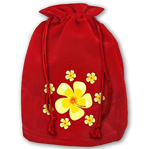 Aloha Flower 1 Drawstring Christmas Gift Sacks Made Of Pleuche And Sponge Velvet By Gift Boutique (Vampire Nerd Costumes)