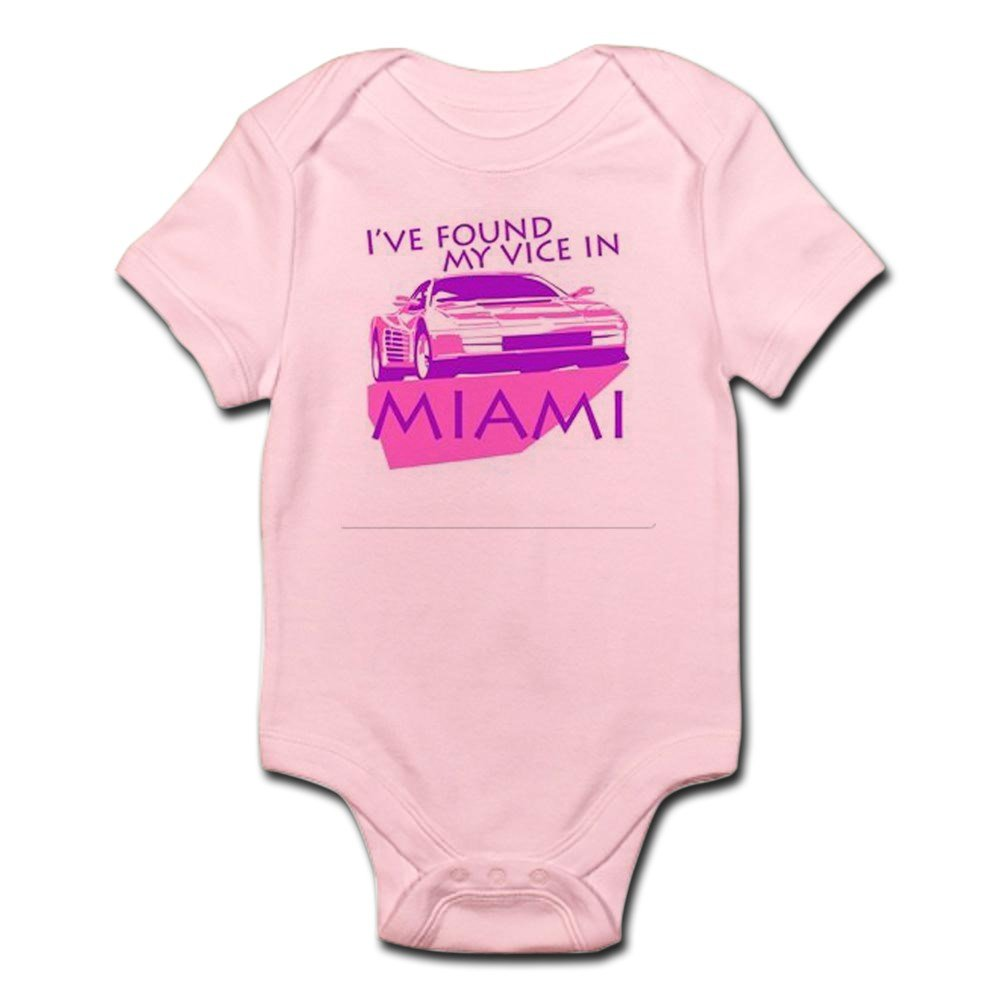 CafePress - Miami Vice - Cute Infant Bodysuit Baby Romper