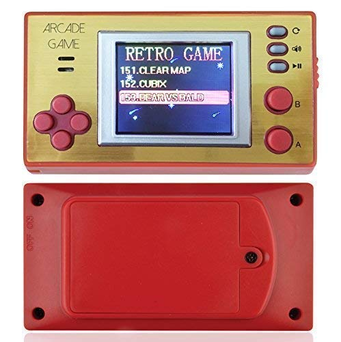 Handheld Portable Arcade Video Game Console iWawa Retro Pocket 150+ Games for Kids to Adult by IWAWA (Image #4)