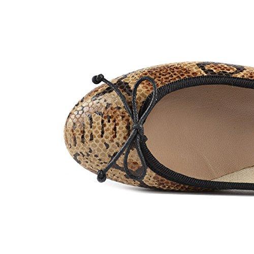 B Femme Chaussures Ballerines Marron Stefania Elia ax1qfwSS