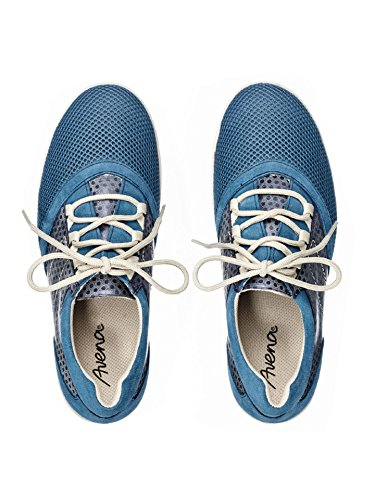 Avena Damen Hallux-Sneaker Feel Free Blau