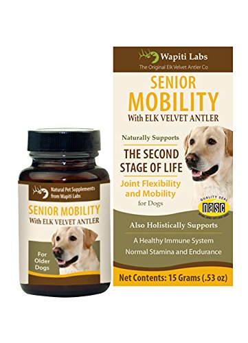 Wapiti Labs Dog Senior Mobility Formula, 15gm