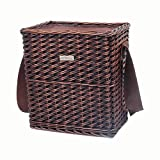 Picnic & Beyond Willow Cooler Basket
