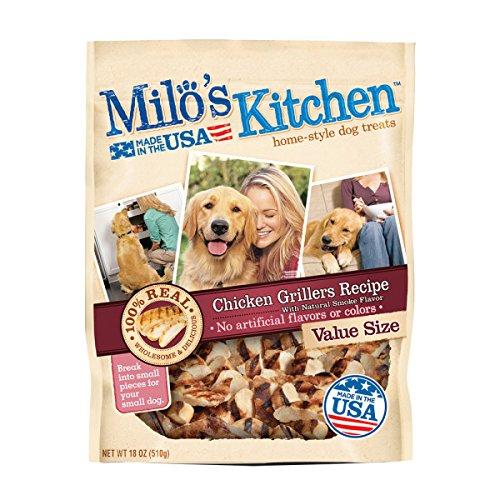 Milo's Kitchen Chicken Grillers Dog Treat