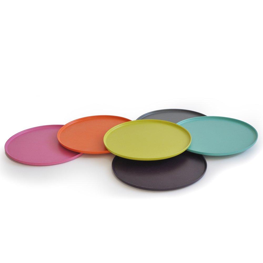 BIOBU by EKOBO CH212C / Pizza Plate, Dinner Plates: Amazon