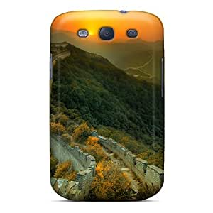 New China Wall Tpu Skin Case Compatible With Galaxy S3