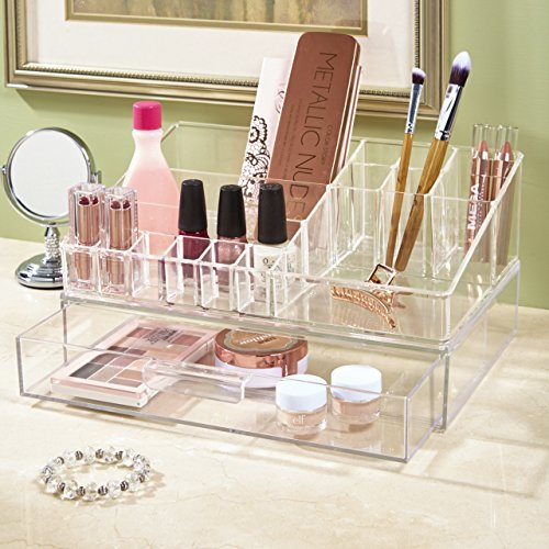 60%OFF STORi Premium Quality Clear Plastic Cosmetic and