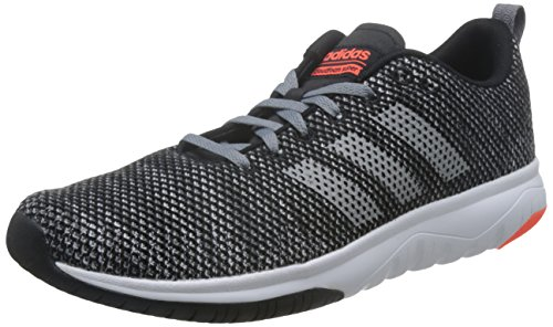 core Superflex Cf Adidas solar Red Homme grey F17 Fitness Three Noir Black Chaussures De wBddq5