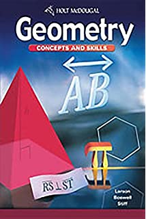 Amazon geometry concepts skills 9780618087587 mcdougal geometry concepts and skills fandeluxe Choice Image