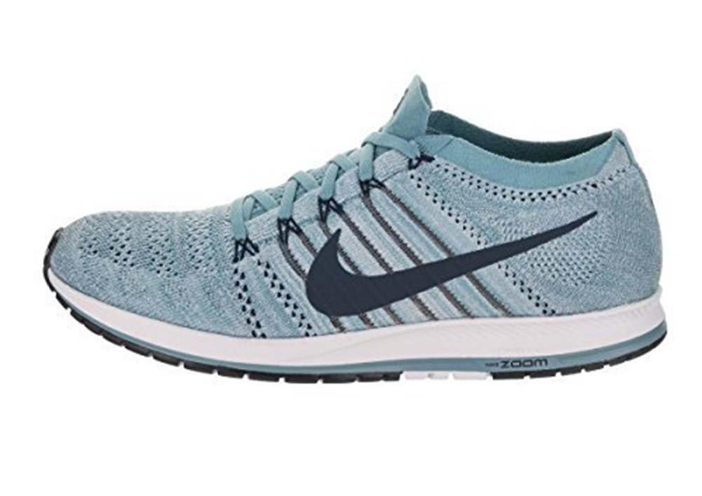 12e65cc3b238e Nike Flyknit Streak Unisex Running Shoe (Cerulean/Thunder Blue, 12.5 D(M)  US/14 B(M) US)
