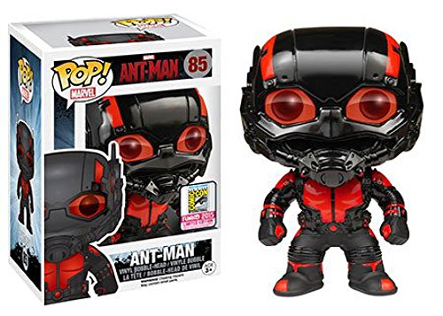 Funko - Pop Collection - Ant-Man - Ant-Man Blackout SDCC 2015 - 084980305