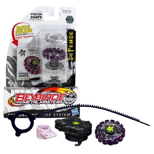 Hasbro – 37442 – Beyblade Metal Masters – BB-121 – Poison Zurafa – S130MB Defense (Import UK)