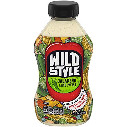 Wild Style Jalapeno Lime Twist Sauce, 12 oz Box