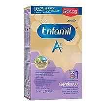 Enfamil A+ Baby Formula, Gentlease Powder Refill Box, 942g